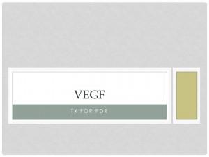 VEGF causes proliferative diabetic retinopathy